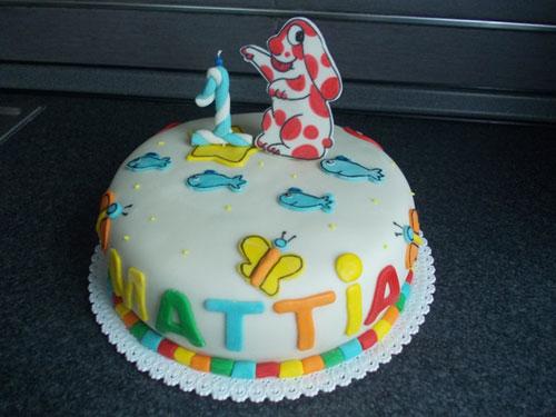 Foto della torta della Pimpa n.21
