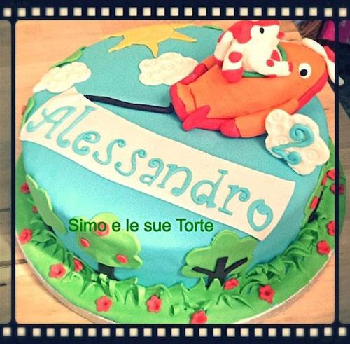 Foto della torta della Pimpa n.22
