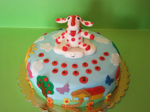 Foto della torta della Pimpa n.23