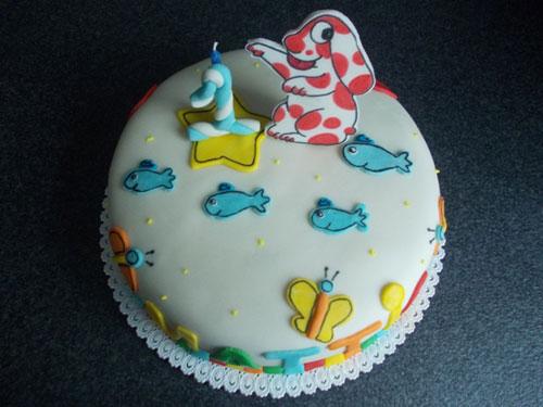 Foto della torta della Pimpa n.24