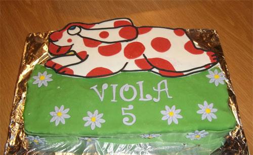 Foto della torta della Pimpa n.25