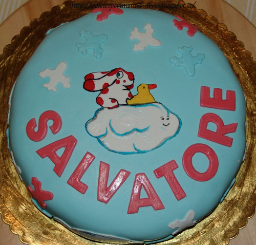 Foto della torta della Pimpa n.26