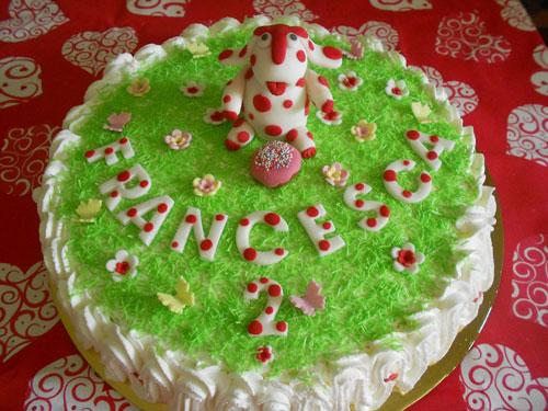 Foto della torta della Pimpa n.28