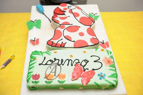Foto della torta della Pimpa n.29