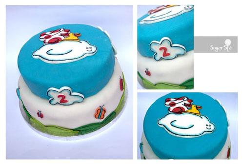 Foto della torta della Pimpa n.31