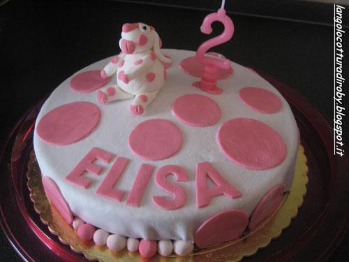 Foto della torta della Pimpa n.32