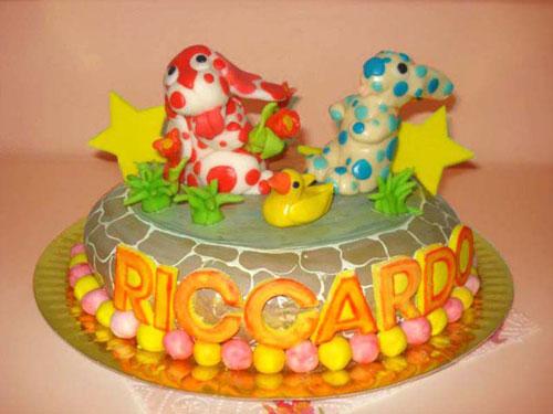 Foto della torta della Pimpa n.33