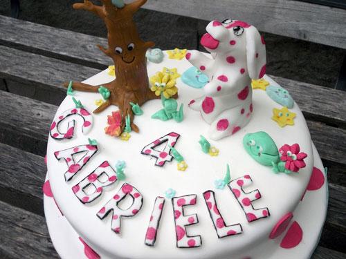 Foto della torta della Pimpa n.34