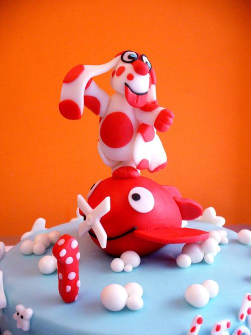 Foto della torta della Pimpa n.35
