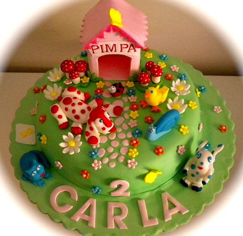 Foto della torta della Pimpa n.37