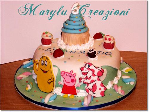 Foto della torta della Pimpa n.38