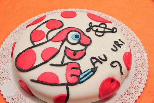 Foto della torta della Pimpa n.39