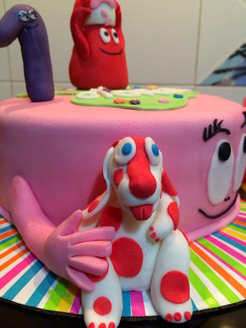 Foto della torta della Pimpa n.40