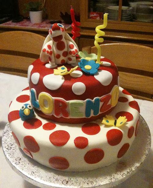 Foto della torta della Pimpa n.41