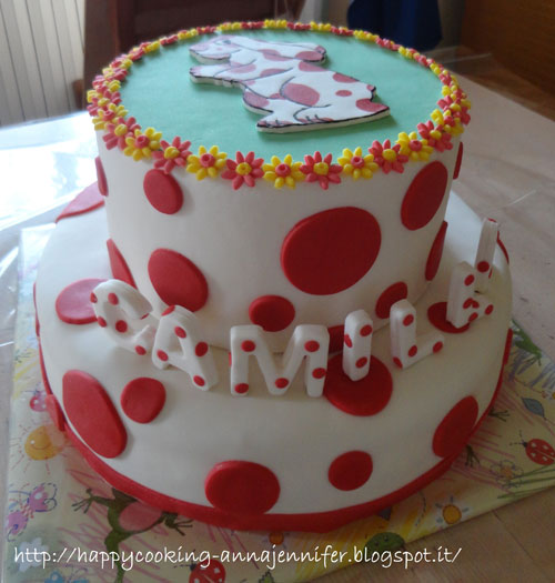 Foto della torta della Pimpa n.42