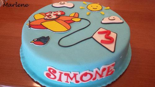 Foto della torta della Pimpa n.44