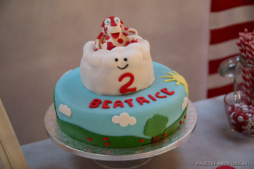 Foto della torta della Pimpa n.46