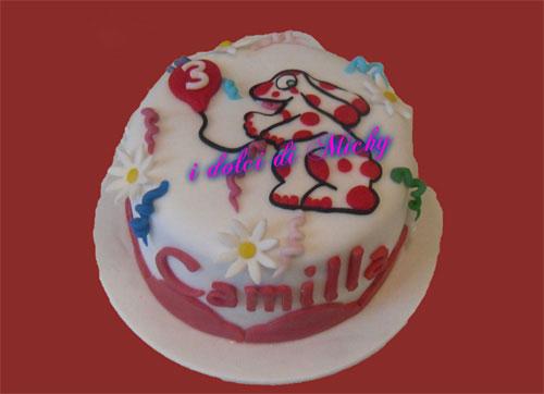 Foto della torta della Pimpa n.47