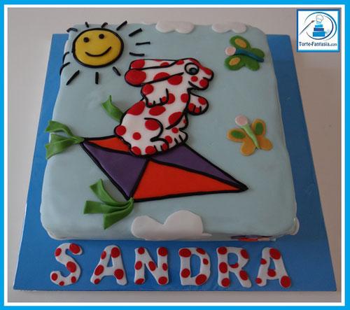 Foto della torta della Pimpa n.48