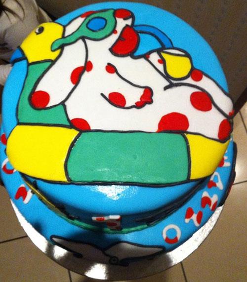 Foto della torta della Pimpa n.49
