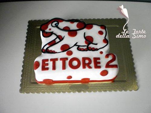 Foto della torta della Pimpa n.50