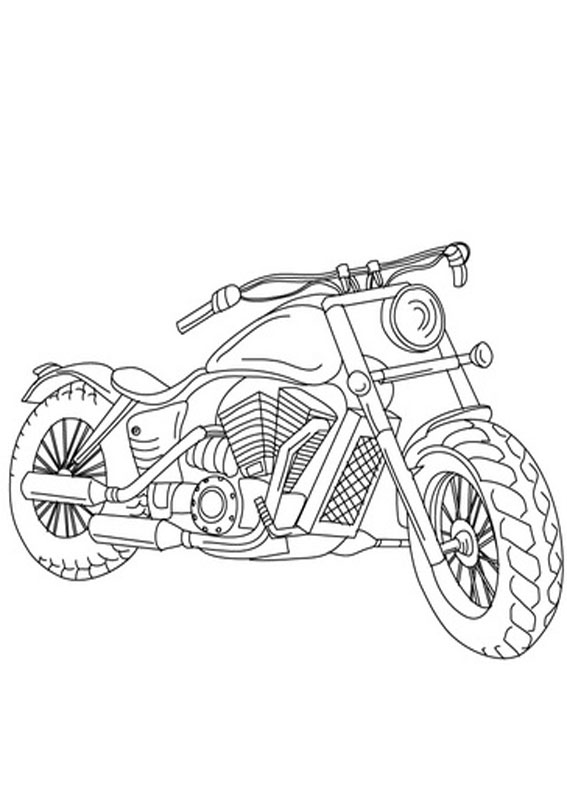30 disegni di moto da stare e colorare pianetabambini it