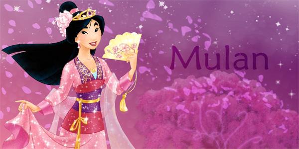 Disegni di Mulan da stampare per bambini