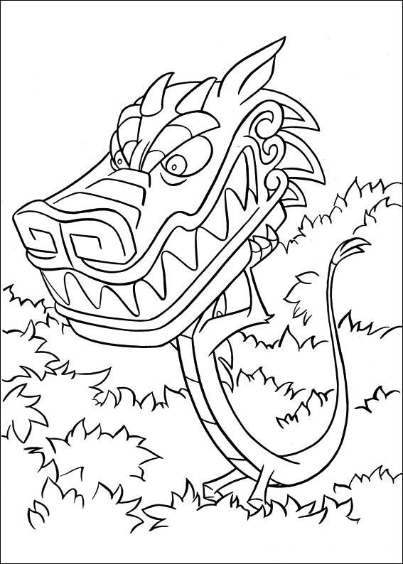 70 Disegni Di Mulan Da Stampare E Colorare Pianetabambini It