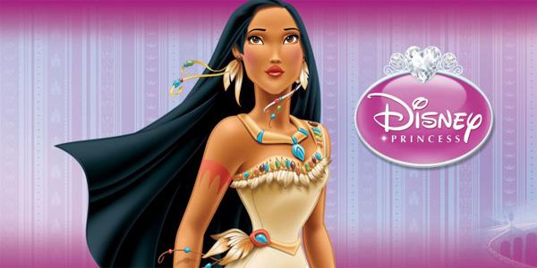 Disegni da colorare della principessa Pocahontas