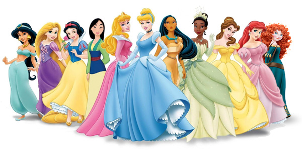 Disegni delle principesse disney da colorare for Principesse disney da colorare