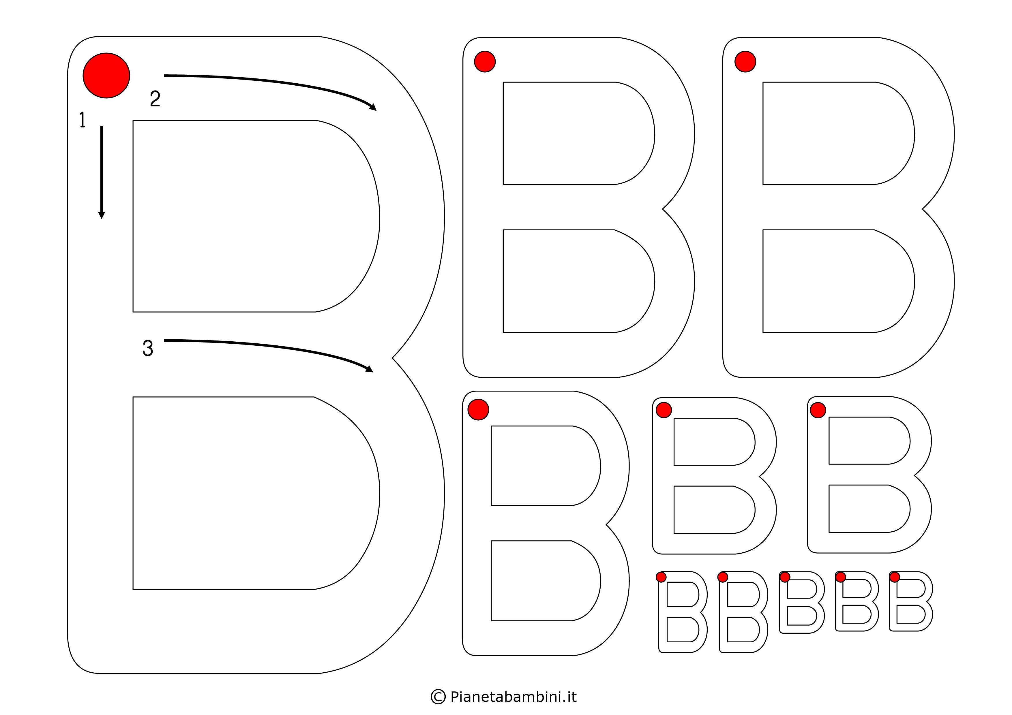 Scheda-Lettera-B