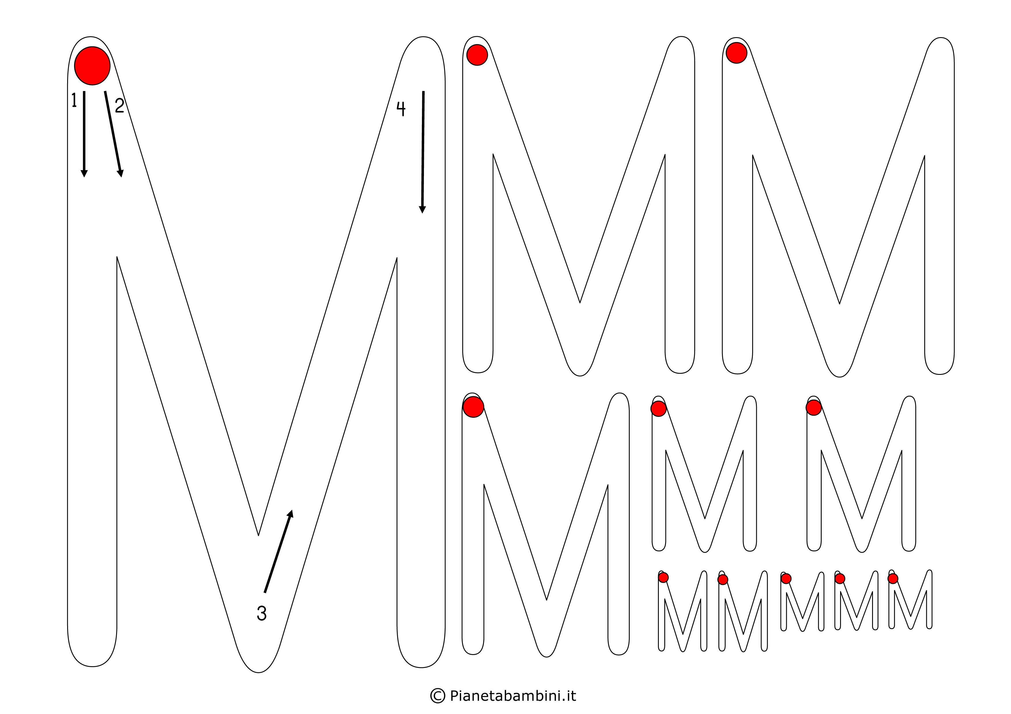 Scheda-Lettera-M