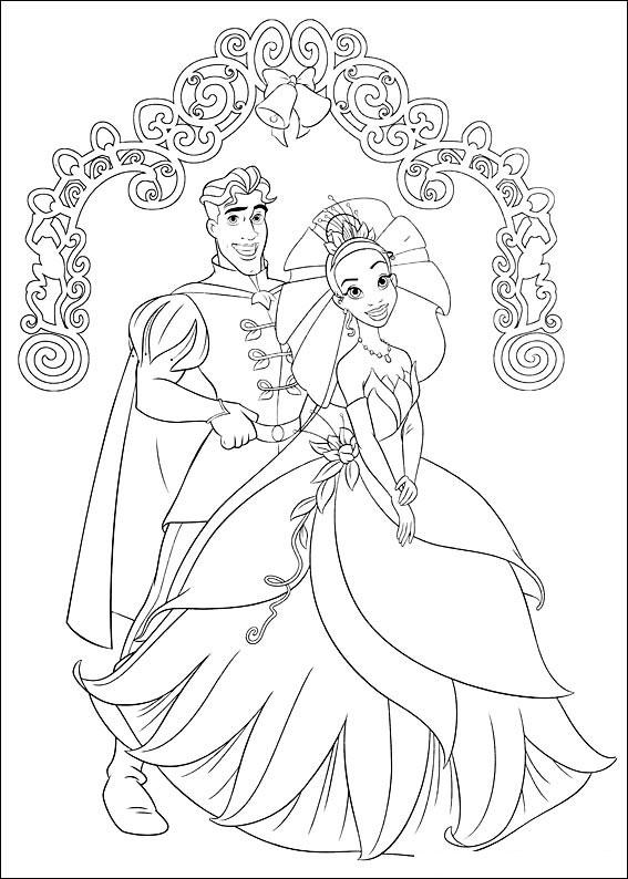 Disegni Di Tiana De La Principessa E Il Ranocchio Da Colorare Pianetabambini It