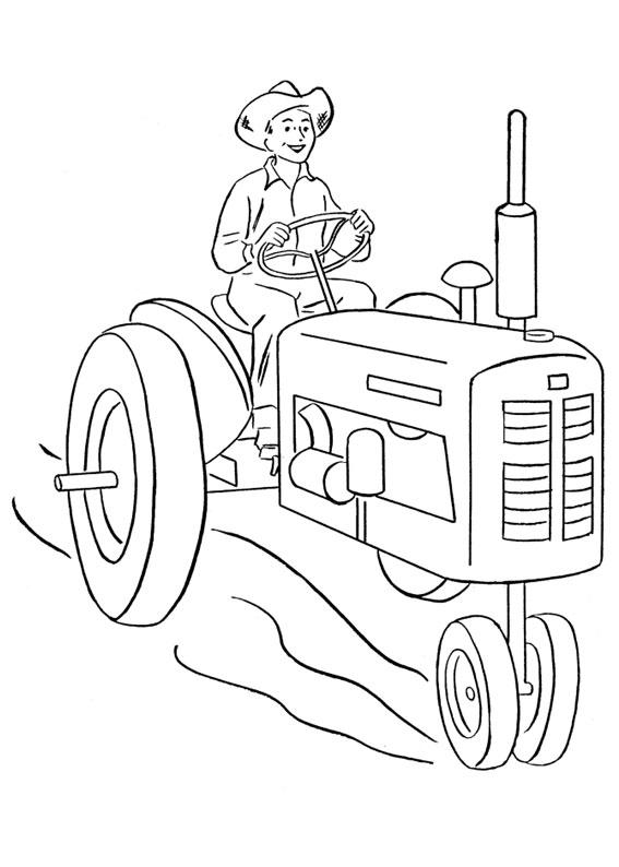 21 disegni di trattori da stampare e colorare - Stampare pagine da colorare ...
