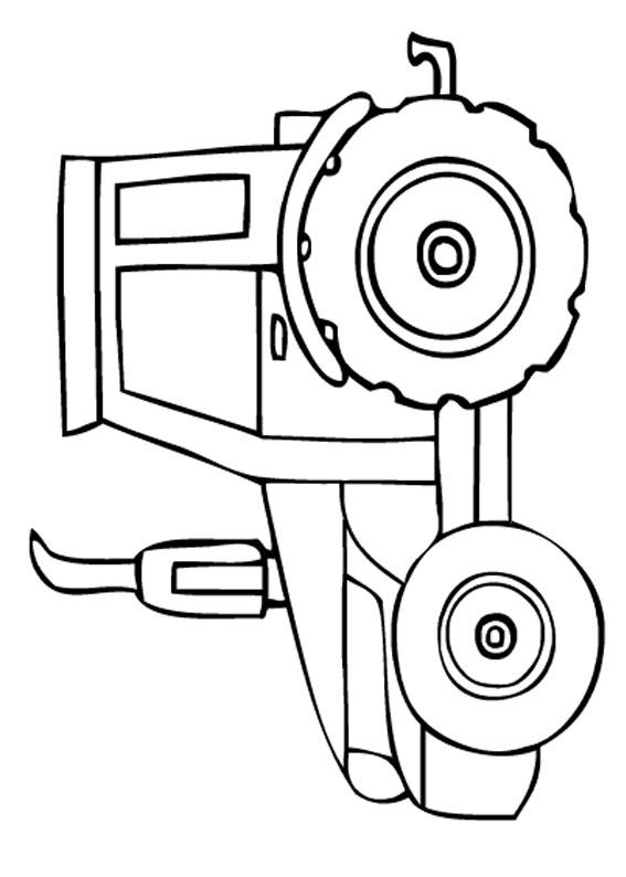21 disegni di trattori da stampare e colorare for Disegni da stampare colorare e ritagliare