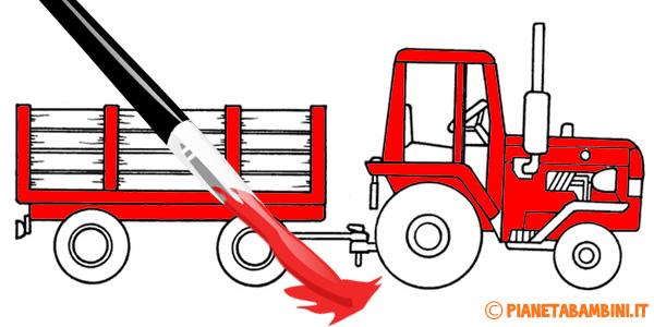 Disegni di trattori da stampare gratis
