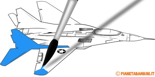 Disegni di aerei da colorare per bambini
