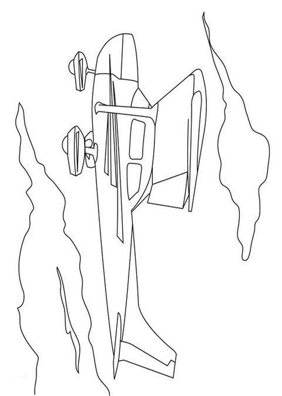Elicottero Stilizzato : Disegni di aerei da stampare e colorare pianetabambini