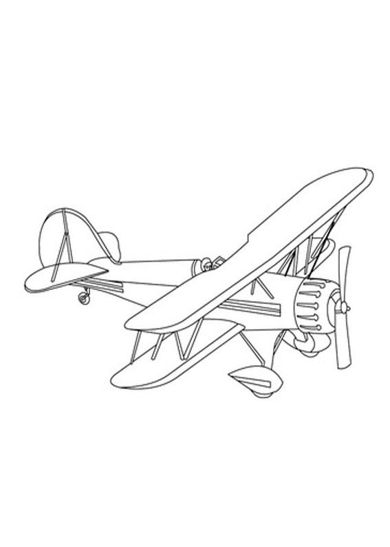 33 disegni di aerei da stampare e colorare - Plane coloriage ...