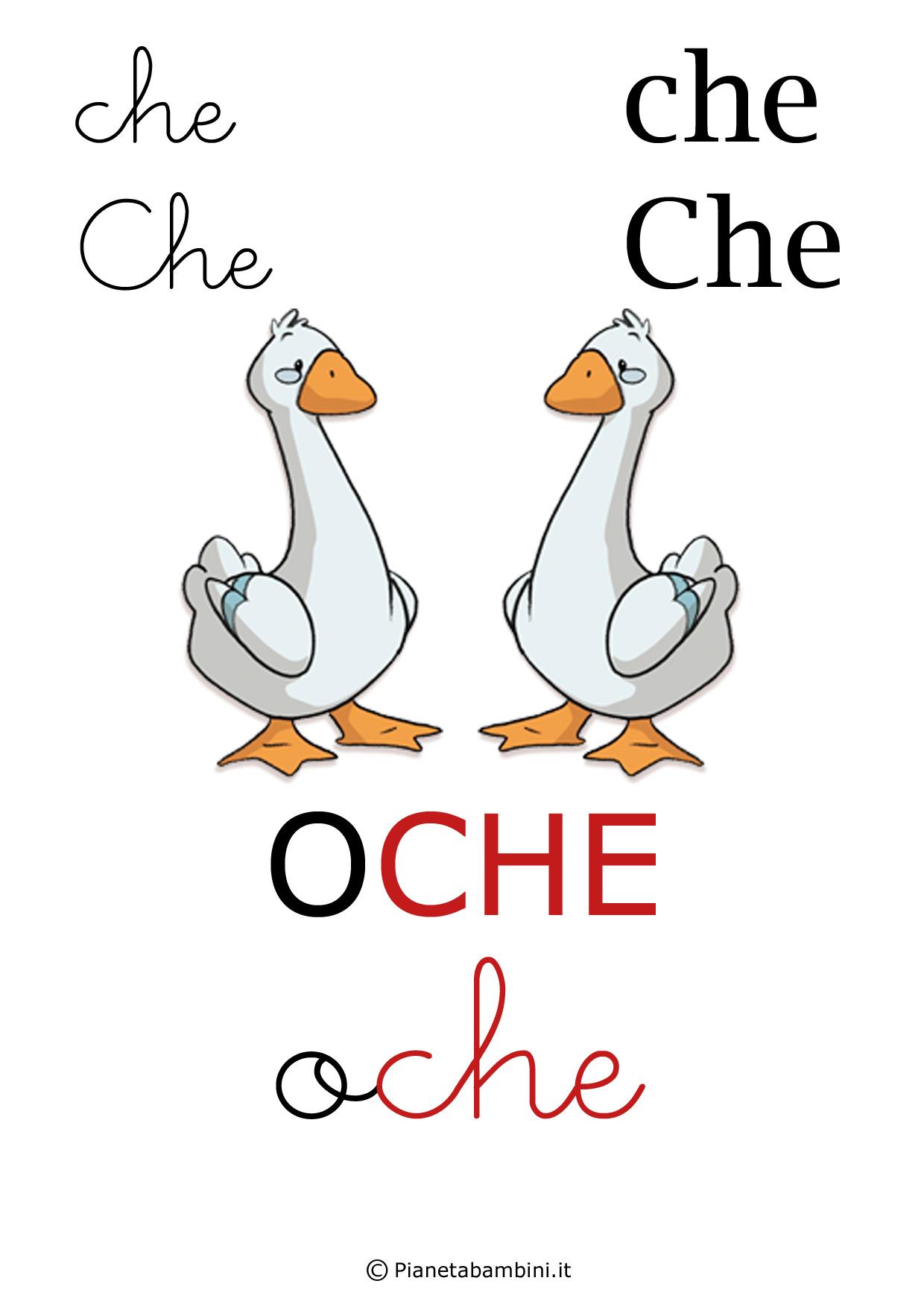 Alfabetiere-Lettera-CHE
