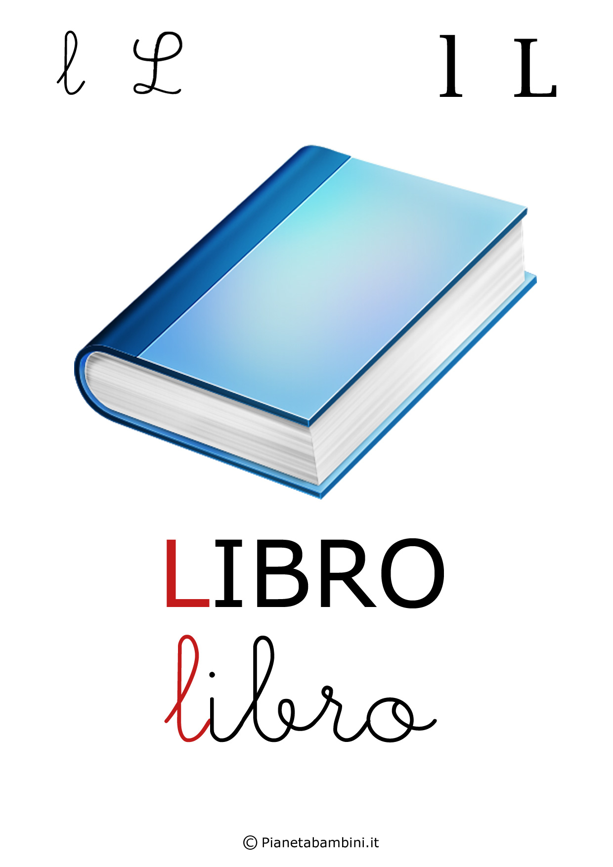 Alfabetiere-Lettera-L