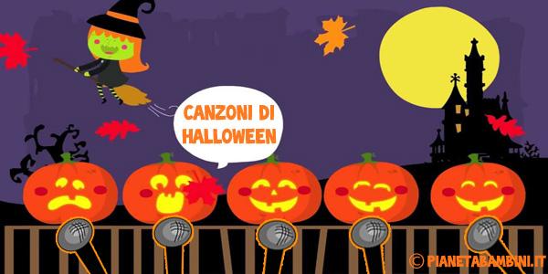 Canzoni di Halloween per bambini da ascoltare online