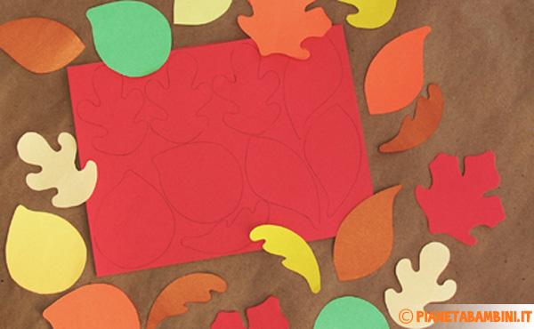 Come realizzare le foglie per creare l'albero autunnale