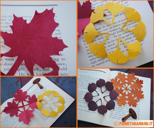 Come creare un lavoretto con foglie autunnali in stile kirigami