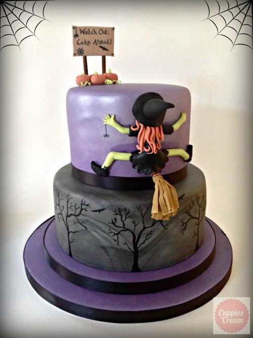 Foto della torta di Halloween n.01