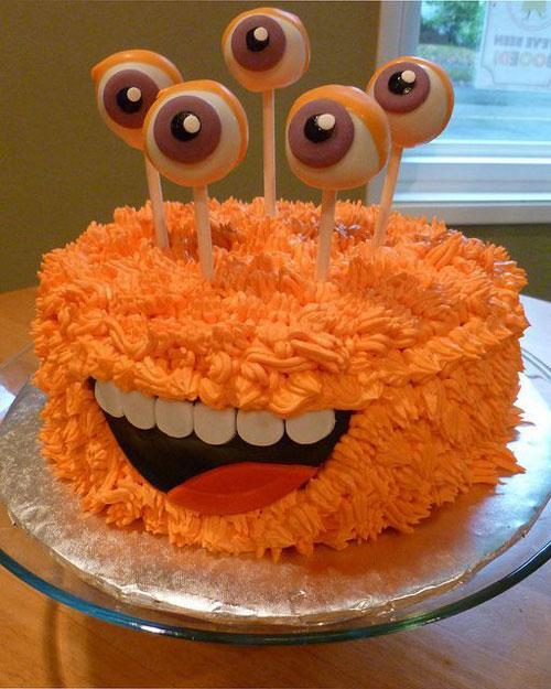 Foto della torta di Halloween n.02