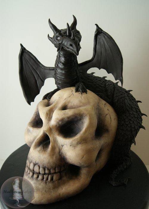 Foto della torta di Halloween n.03