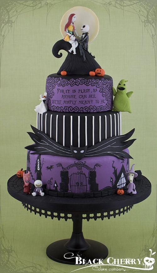 Foto della torta di Halloween n.04