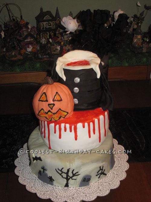 Foto della torta di Halloween n.05