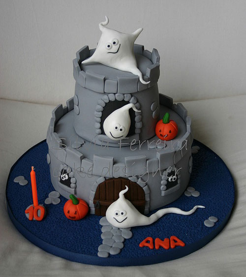 Foto della torta di Halloween n.06